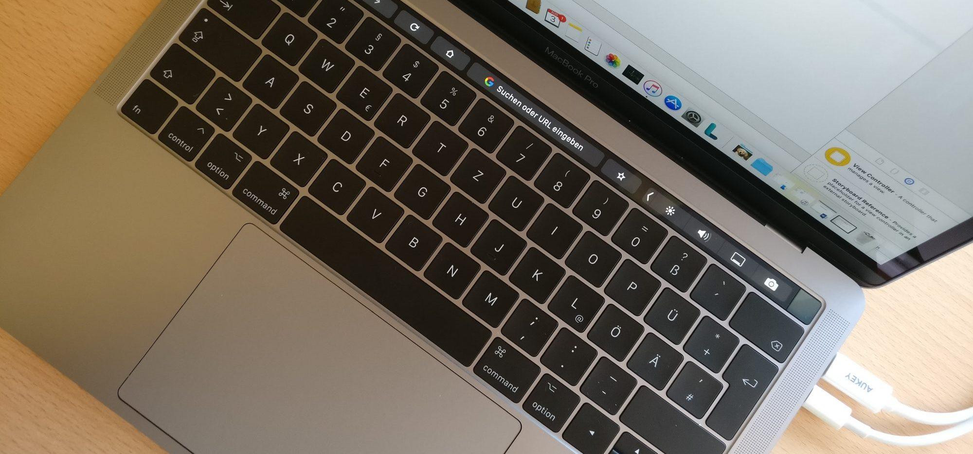 Ein MacBook Pro